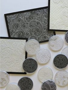 Black and White Filigree Collection