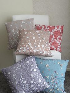 Tea Garden Cushion Collection