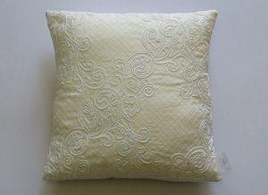 Diagonal Lace Cushion