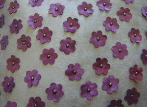 Floral Stud Closeup