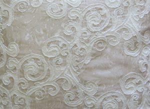 Layered Lace Cushion Closeup