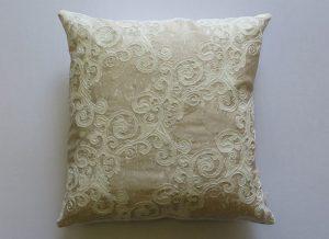 Layered Lace Cushion