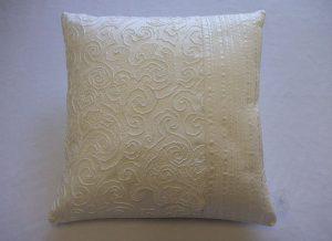 Pintuck Lace Cushion
