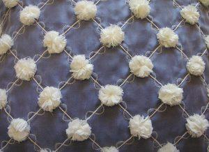 White Pompom Closeup
